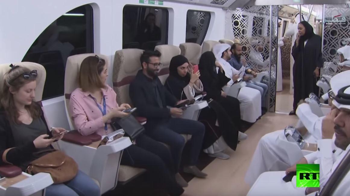 أول خط لمترو الأنفاق  في قطر