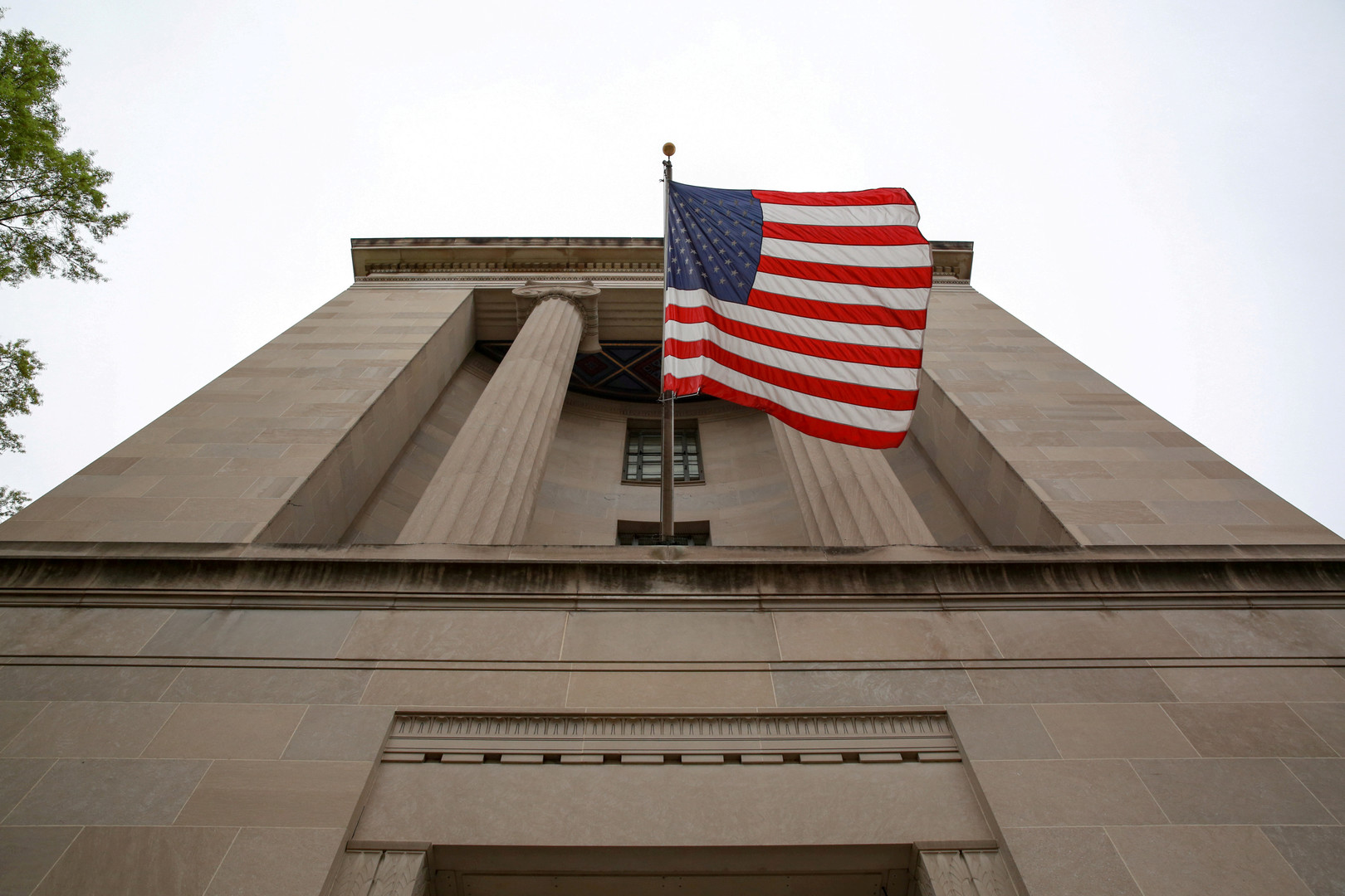 مبنى وزارة العدل الأمريكية في واشنطن