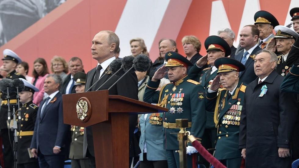 بوتين: دروس الحرب لا تزال ذات أهمية