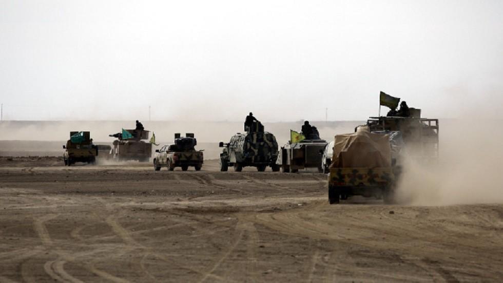 وحدات تابعة لقوات سوريا الديمقراطية - أرشيف