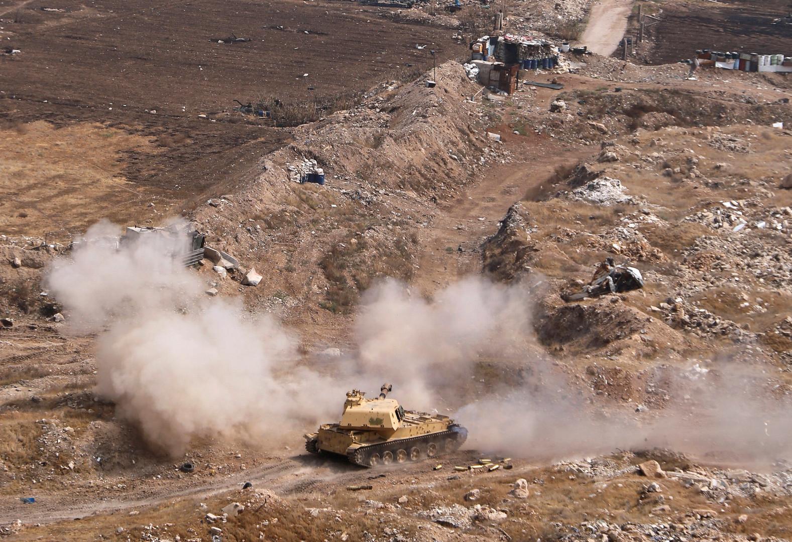 الجيش السوري يحرر مدينة وبلدتين بريف حماة من مسلحي النصرة