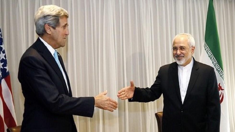 أرشيفية لوزير خارجية إيران مع كيري