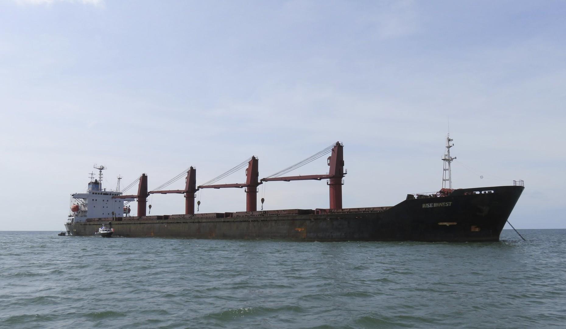 لأول مرة.. واشنطن تعلن احتجازها سفينة شحن كورية شمالية
