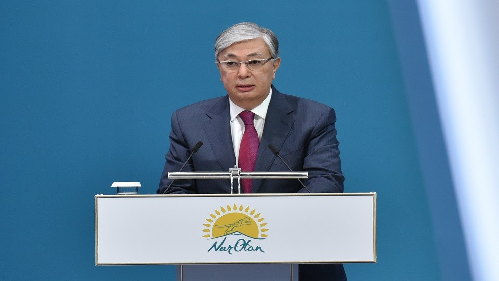رئيس كازاخستان قاسم جومارت توكاييف