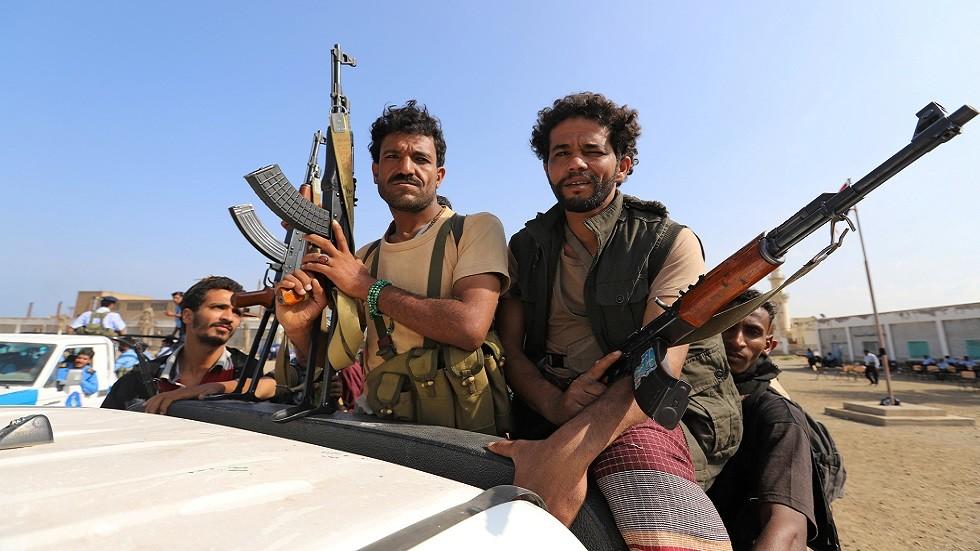مقاتلون حوثيون في الحديدة (صورة أرشيفية)