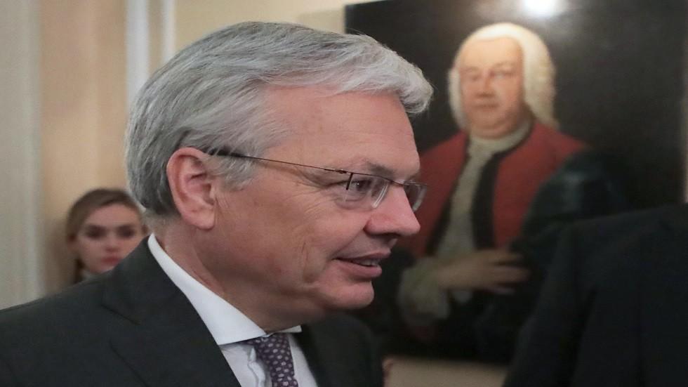 وزير الخارجية البلجيكي ديدييه رينديرز