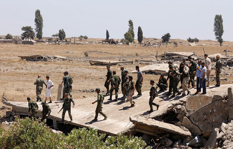 الجيش السوري - أرشيف -