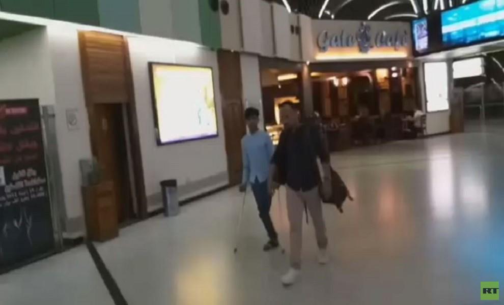 الفتى العراقي قاسم يصل موسكو