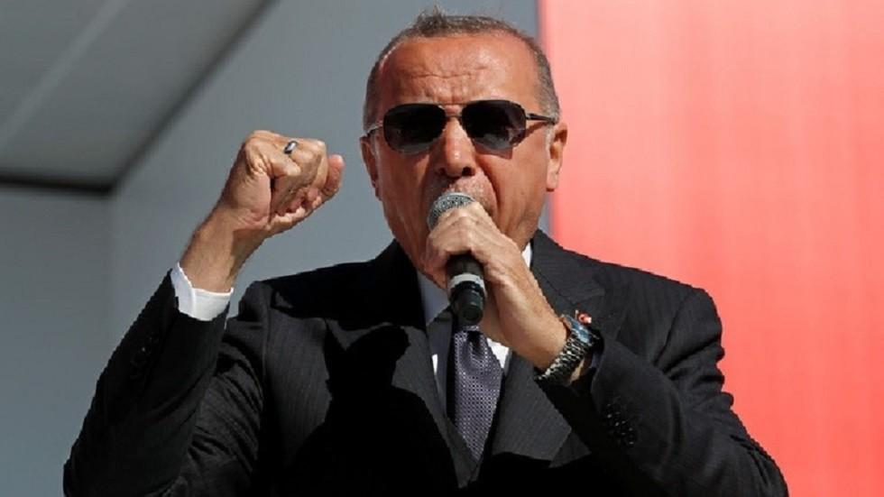 أردوغان يؤكد أن الأتراك