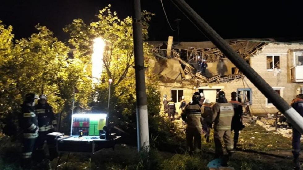 انفجار الغاز في روستوف  الروسية يخلف ضحايا