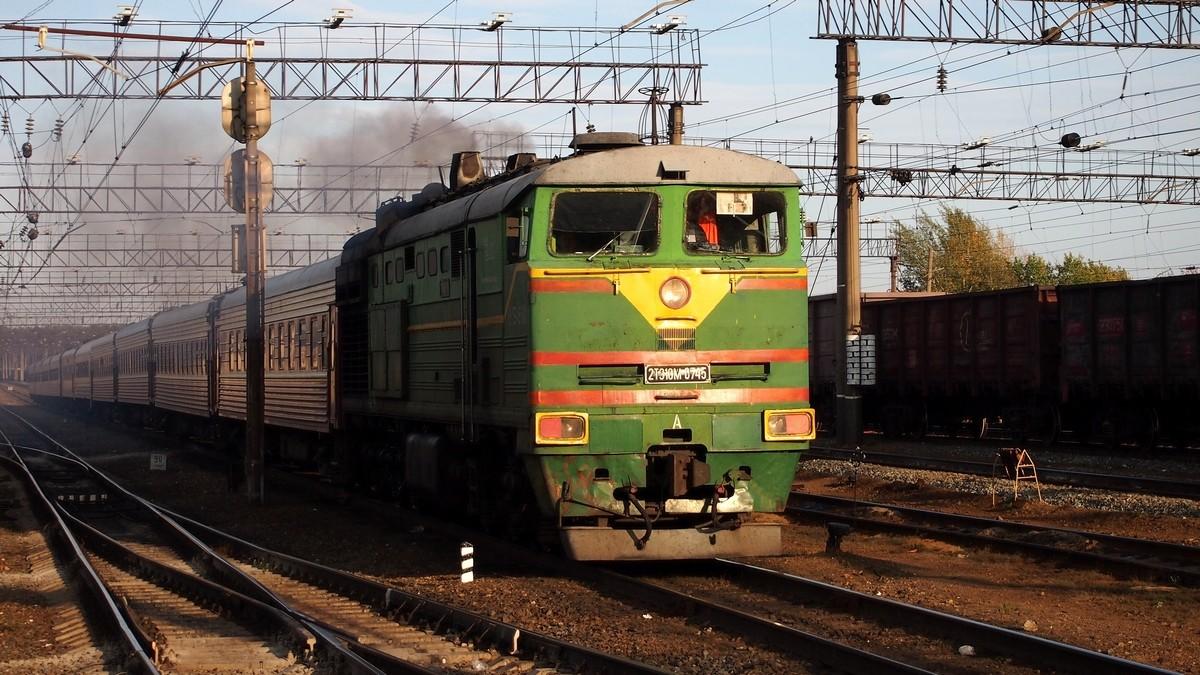 خروج قطار شحن عن سكته في جمهورية تترستان وسط روسيا