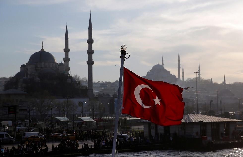علم تركيا - أرشيف -