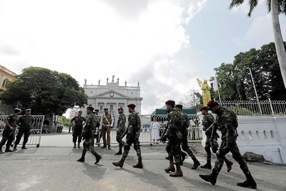 عناصر من قوات الجيش السريلانكي - أرشيف -