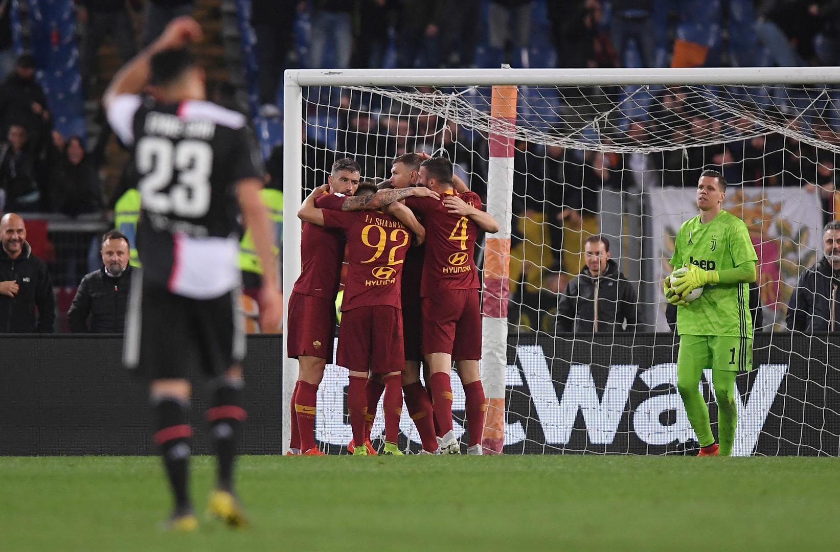 روما يسقط يوفنتوس ويخطف المركز الخامس