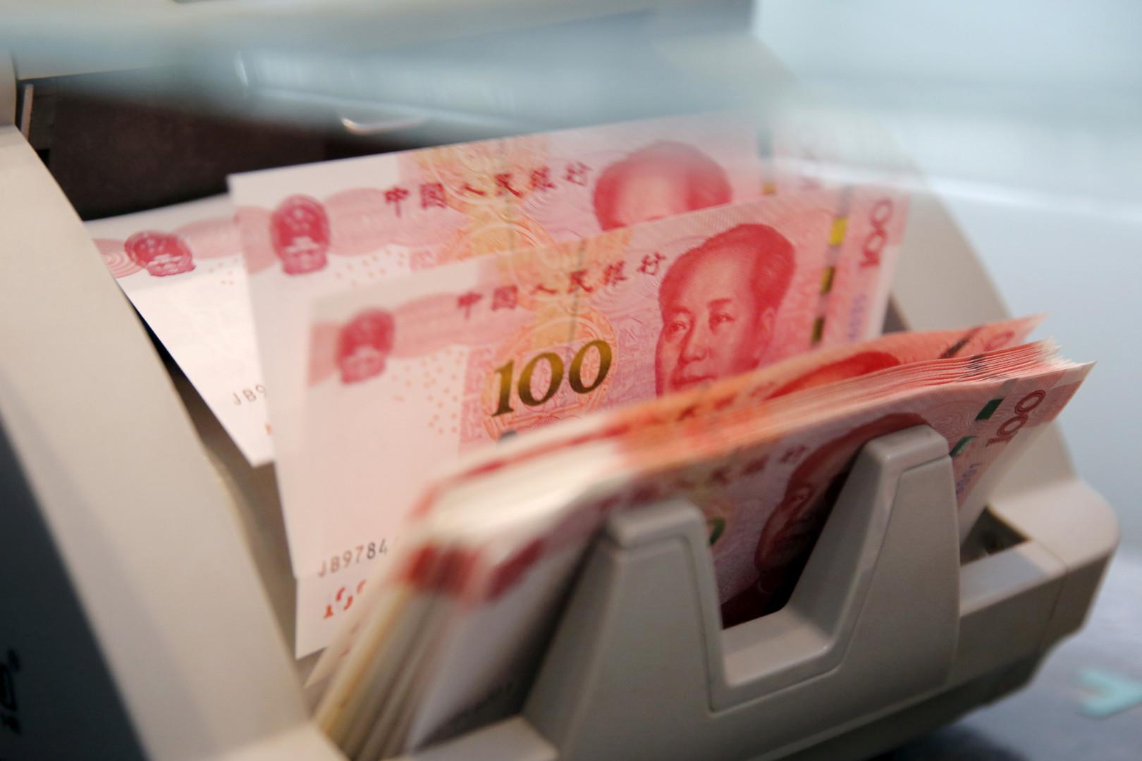اليوان الصيني يسجل أسوأ أداء يومي في 9 أشهر