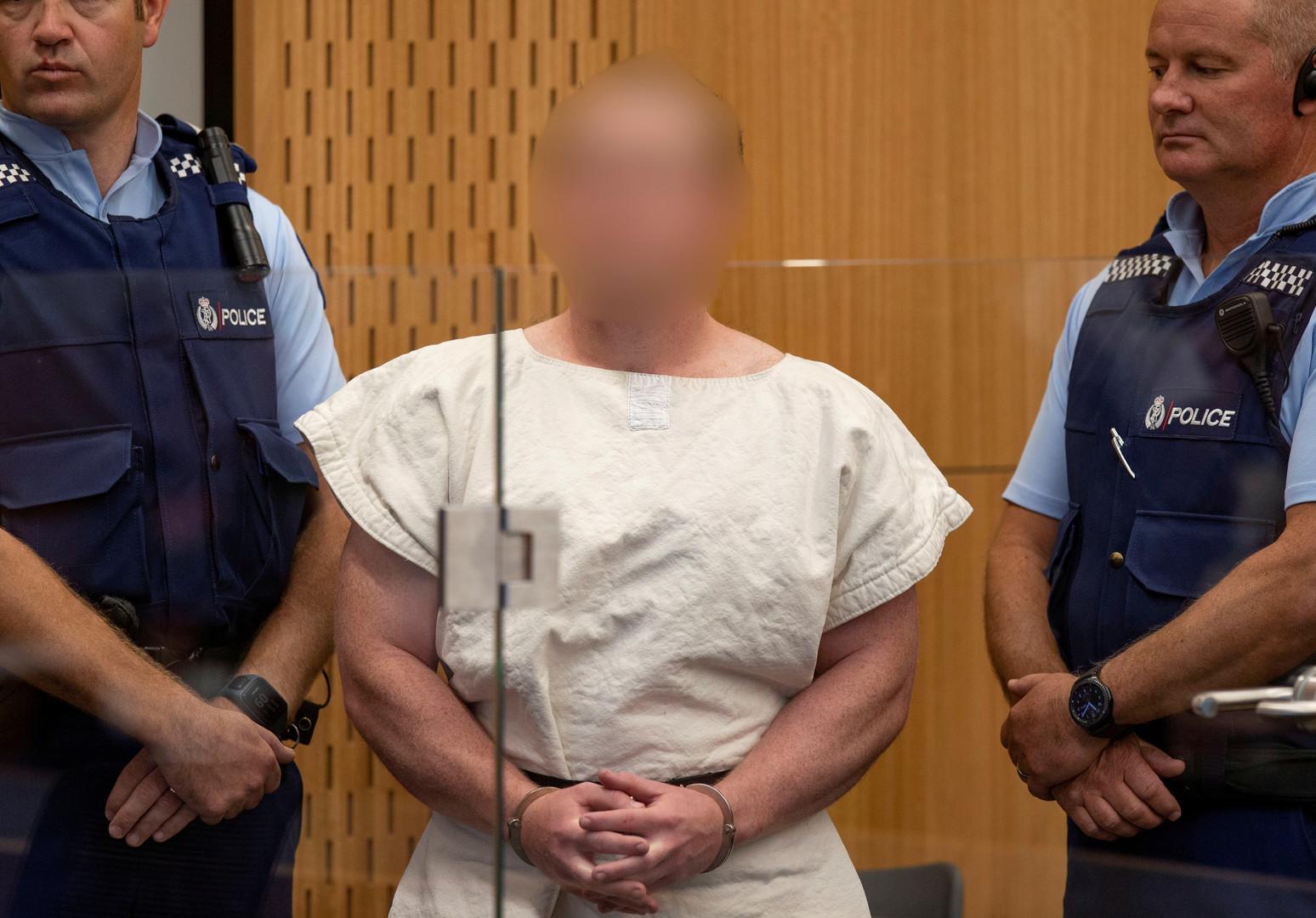 مرتكب مجزرة المسجدين في نيوزيلندا برينتون تارانت
