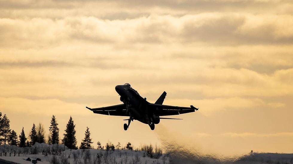 مقاتلة للقوات الجوية الفنلندية (صورة من الأرشيف)