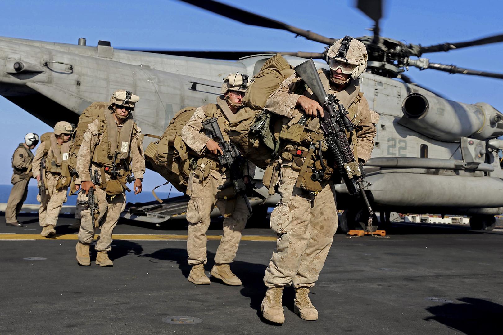 نيويورك تايمز: البنتاغون يستعد لإرسال 120 ألف جندي إلى الشرق الأوسط