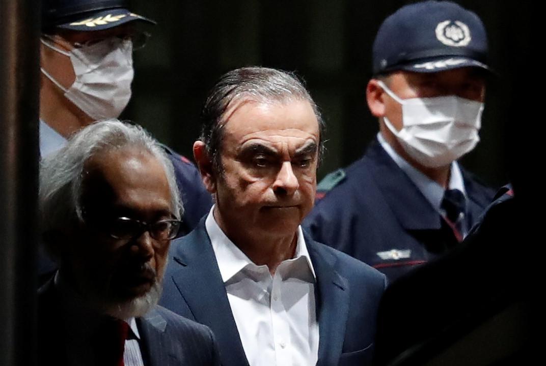 طوكيو تطلب تعديل لائحة اتهام كارلوس غصن