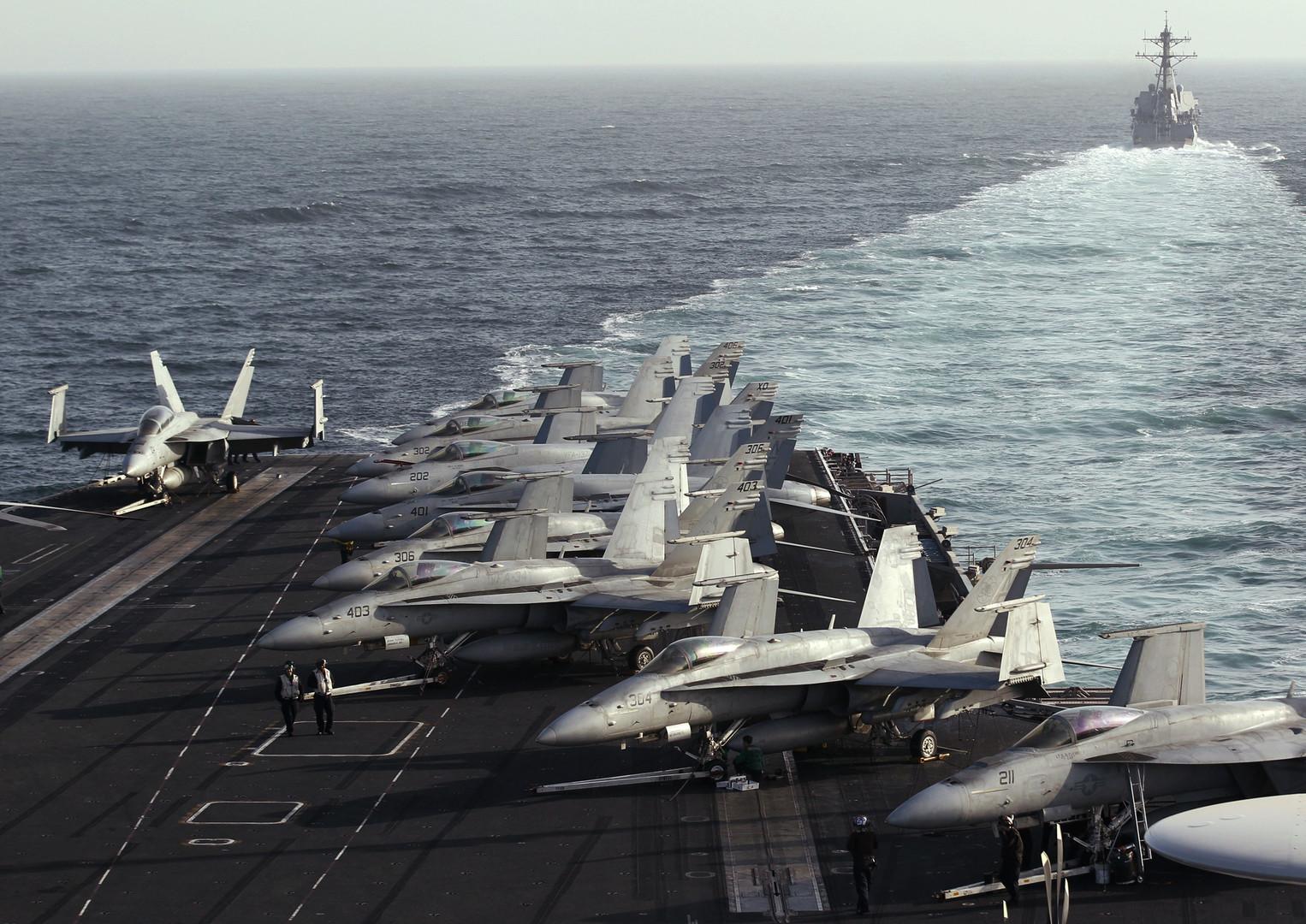 إسبانيا تتوجس شرا وتسحب سفينتها الحربية من القوة الأمريكية المتجهة صوب إيران