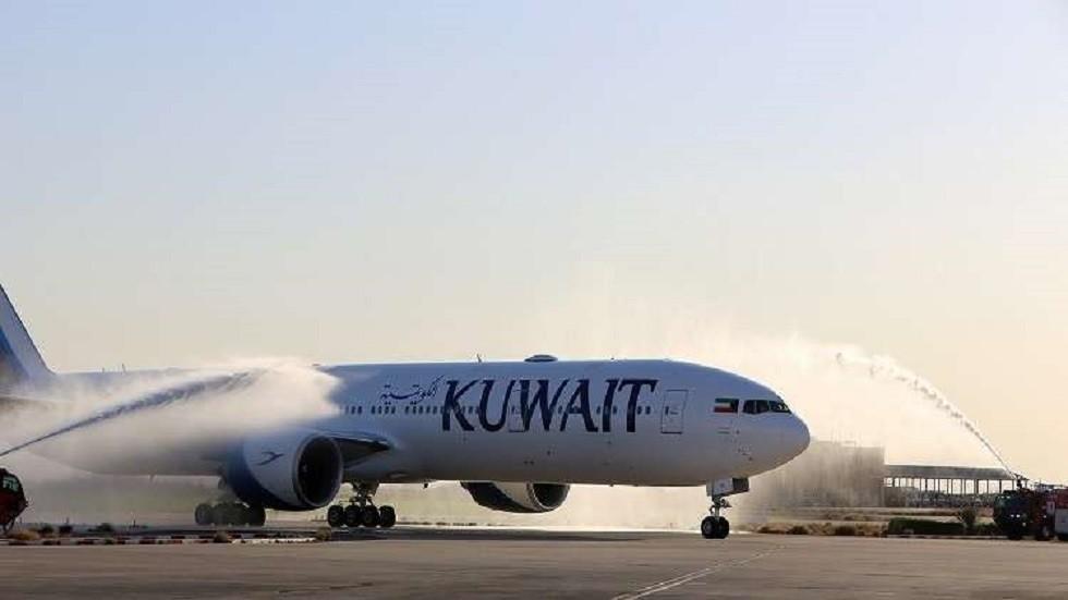 طائرة تابعة للخطوط الجوية الكويتية