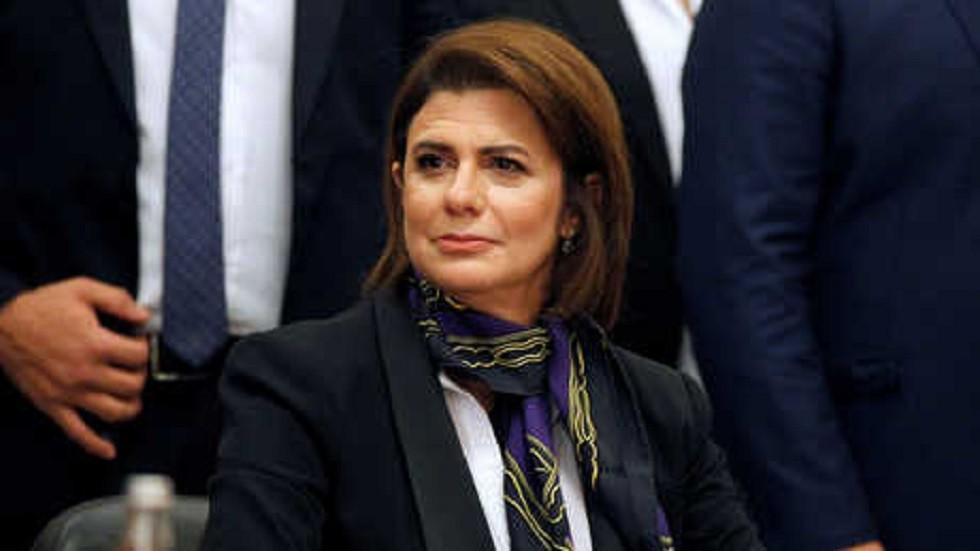 وزيرة الداخلية في لبنان ريّا الحسن
