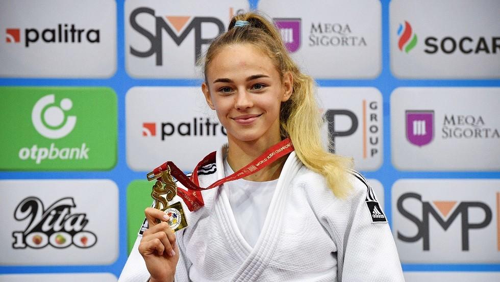 أوكرانية حسناء تصبح أصغر بطلة للعالم في رياضة الجودو (صور + فيديو)