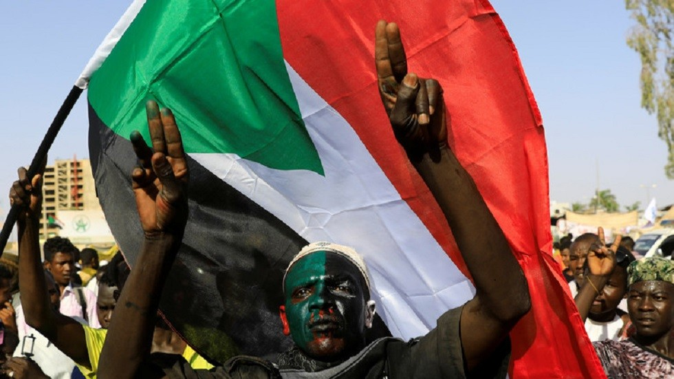 الاعتصامات في السودان