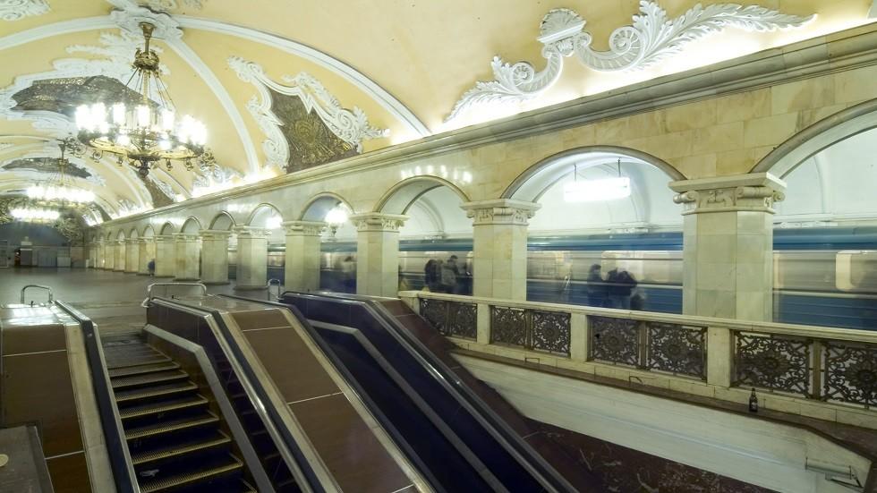 مترو موسكو يحتفل بـ 84 عاما على إنشائه