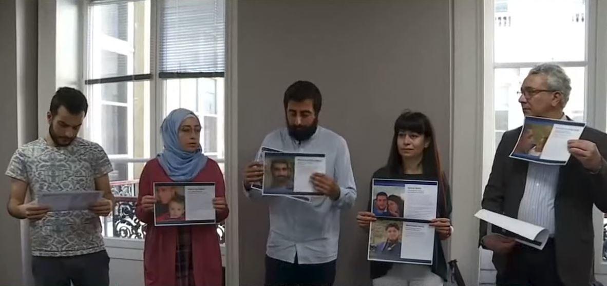 باريس.. ائتلاف عائلات المختطفين لدى داعش