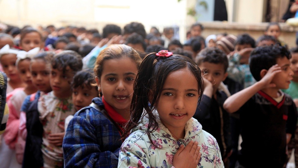 المدارس الابتدائية في تعز باليمن - أرشيف