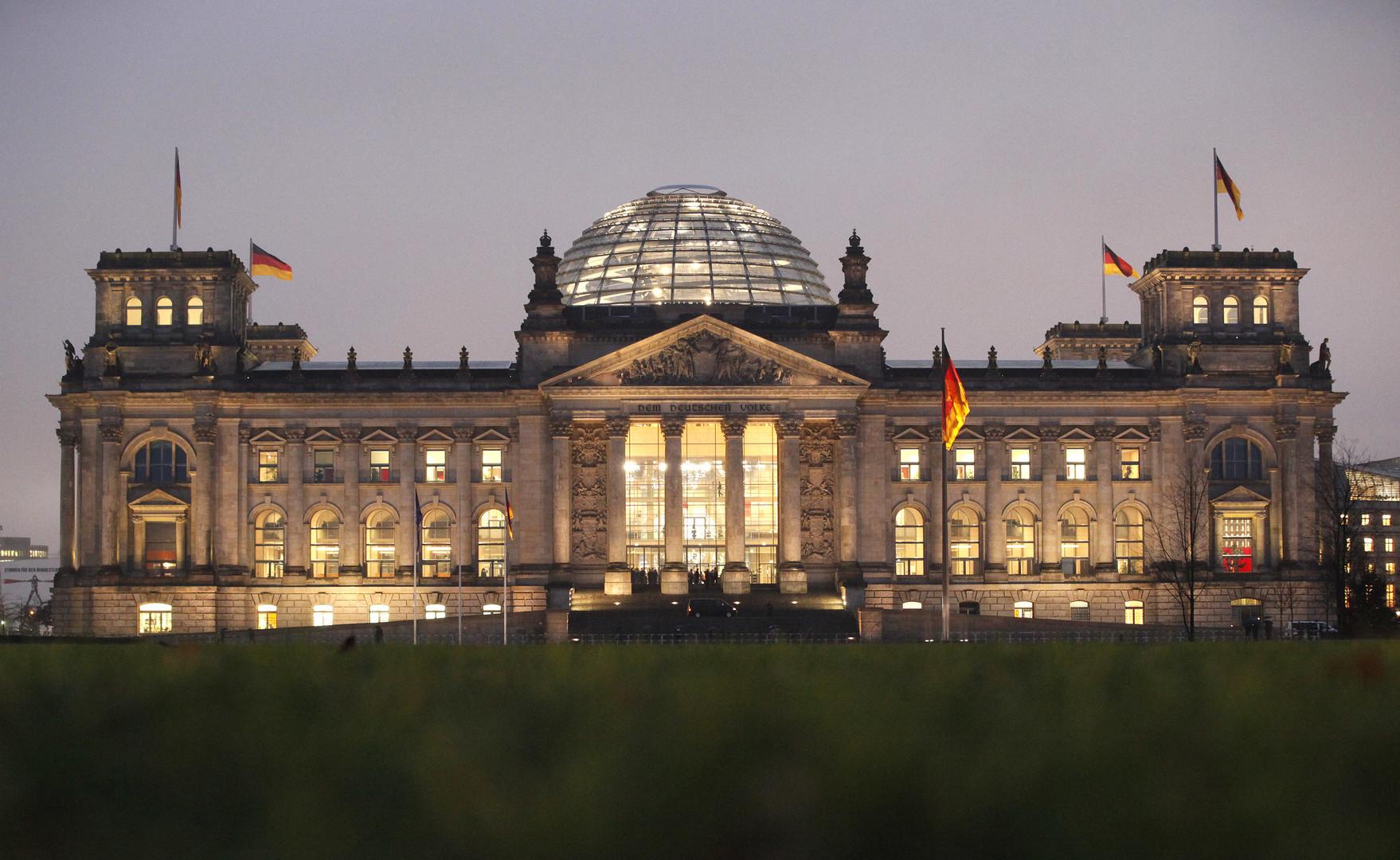مبنى البرلمان التاريخي برلين