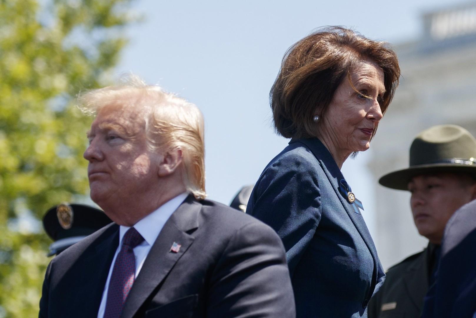 رئيسة مجلس النواب الأمريكي: لا تفويض لترامب من الكونغرس لشن حرب على إيران