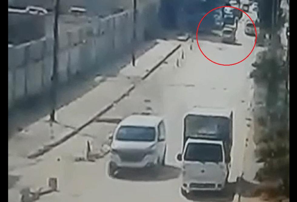 لحظة انفجار سيارة مفخخة في مدينة منبج بمحافظة حلب السورية