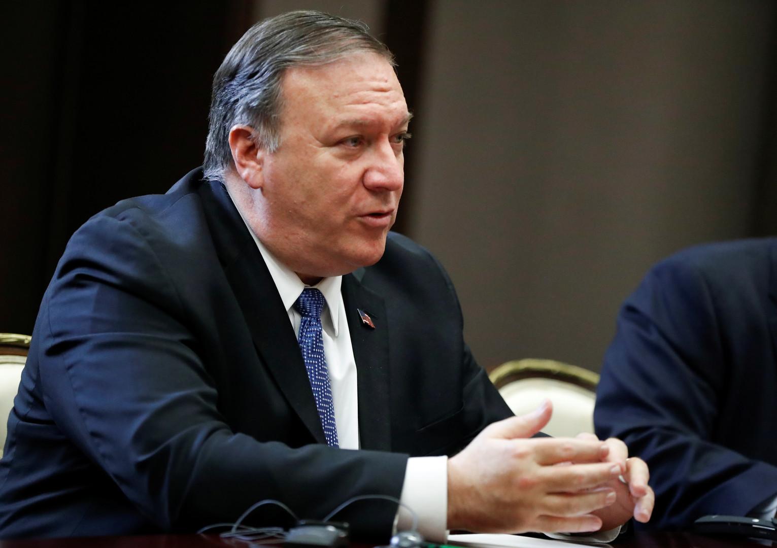 بومبيو: لدى واشنطن وموسكو مصالح مشتركة في كوريا الشمالية