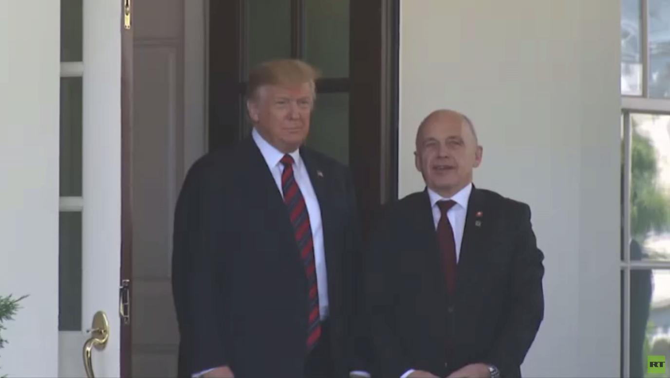ترامب: آمل بعدم التوجه نحو حرب مع إيران
