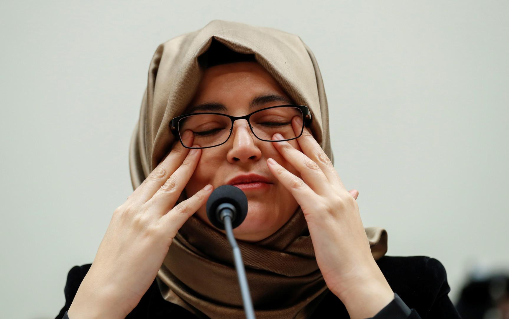 خطيبة خاشقجي تطالب أمام مجلس النواب الأمريكي بفرض عقوبات على السعودية!