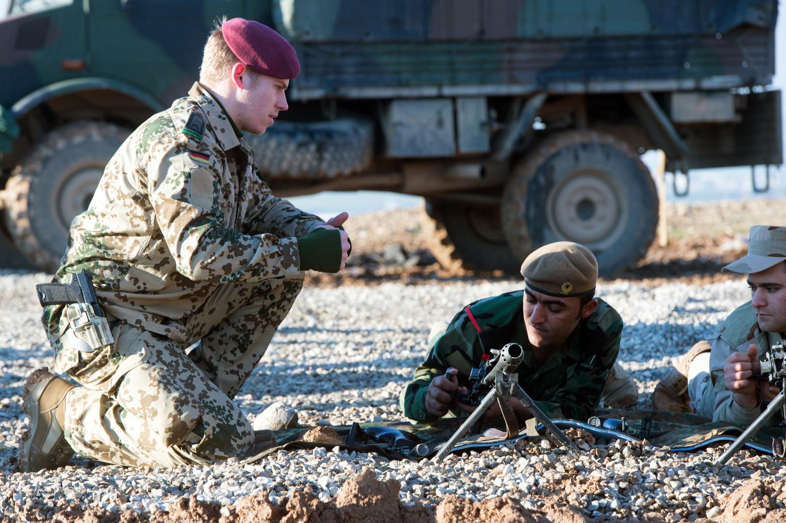 ألمانيا تستأنف مهمة تدريب العسكريين شمال العراق