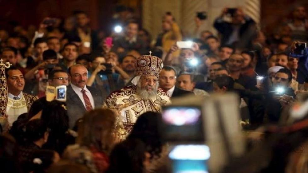 بابا الأقباط في مصر يأمر بإجراء تحقيق عاجل في مقتل كاهن داخل كنيسة