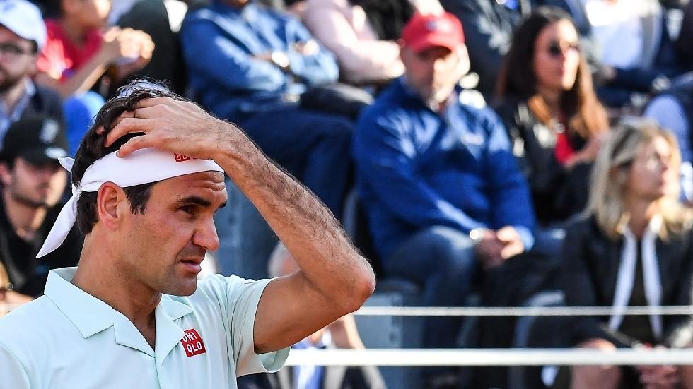 المايسترو فيدرر ينسحب من دورة روما بسبب الإصابة