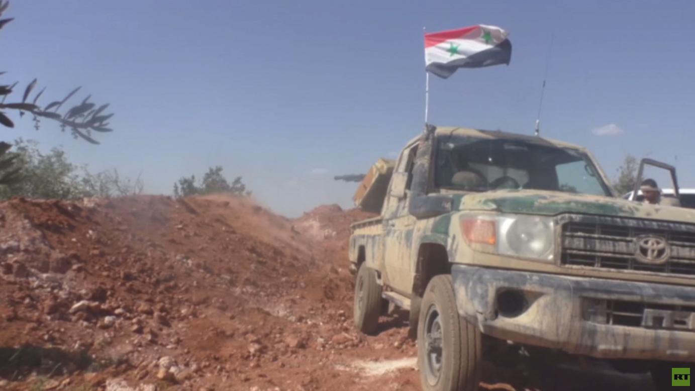 الجيش السوري يواصل عملياته شمال البلاد