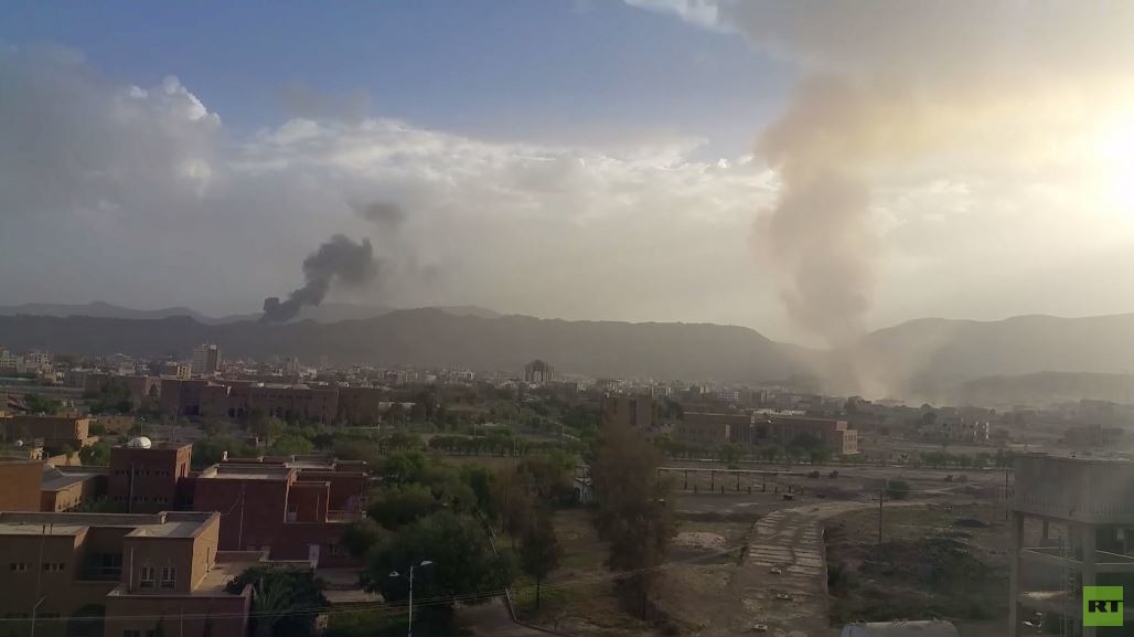 حكومة هادي تدين مقتل مدنيين بقصف للتحالف
