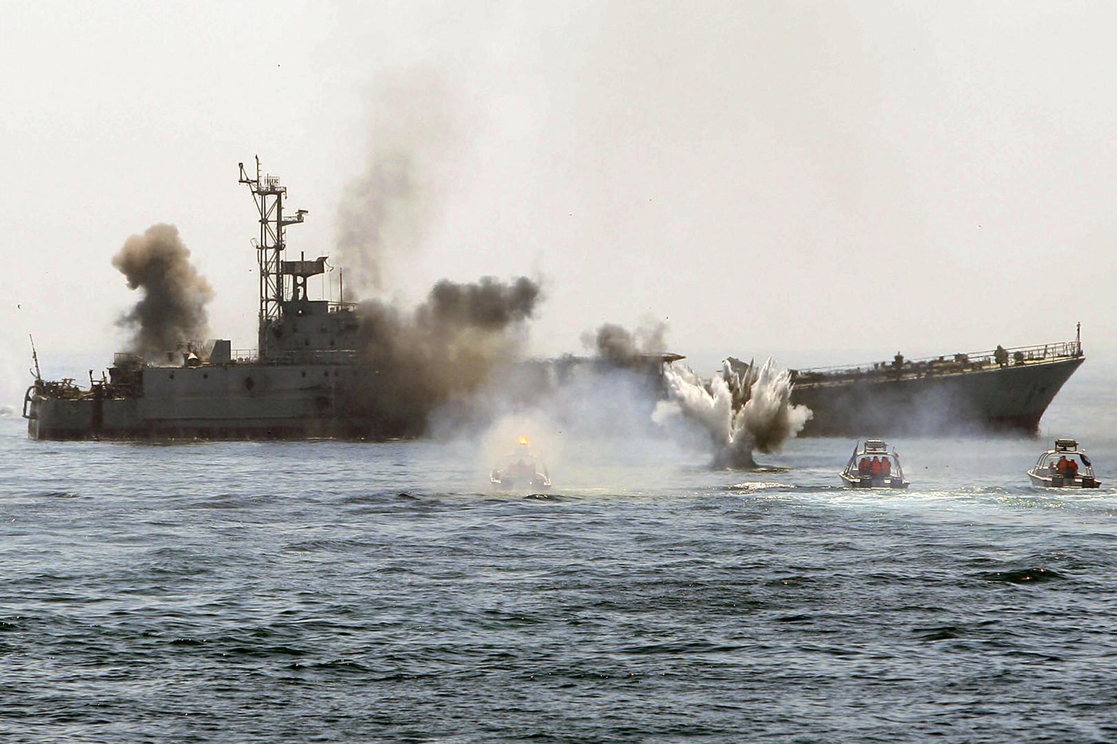 محاكاة إيران للحرب تثير تساؤلات وقلقا أمريكيا