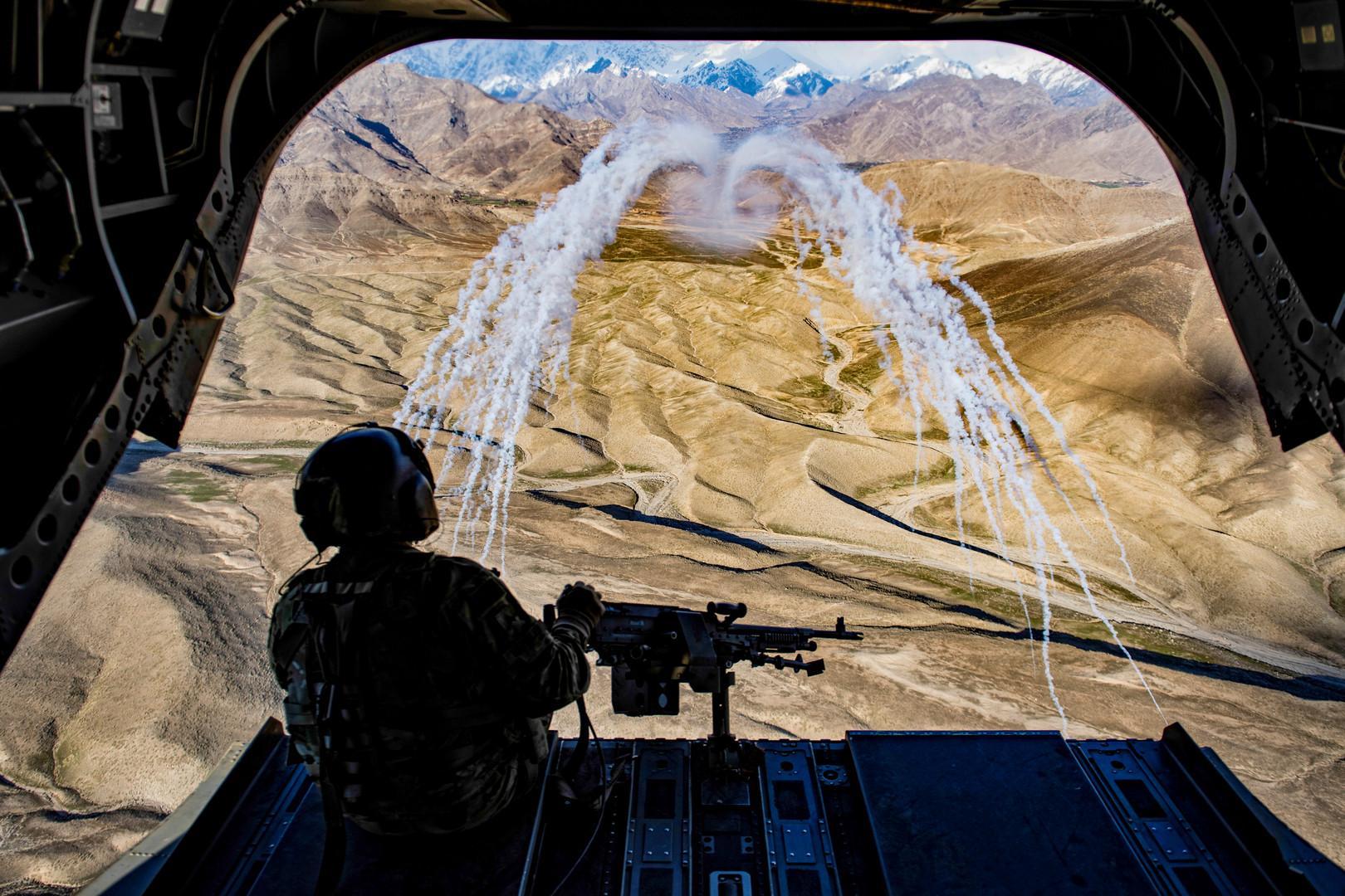 غارة أمريكية تقتل 18 شرطيا جنوب أفغانستان