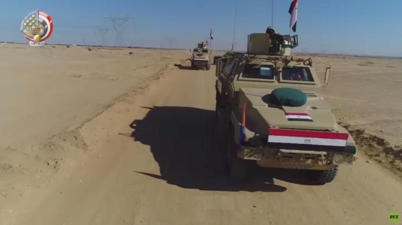 عمليات الجيش المصري في سيناء مستمرة -