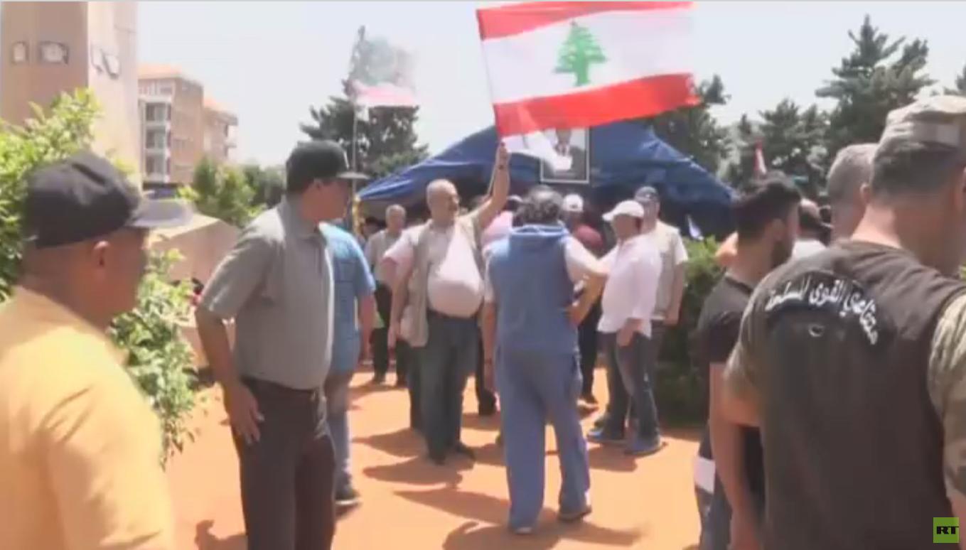 أهالي قتلى الجيش يعتصمون في بيروت