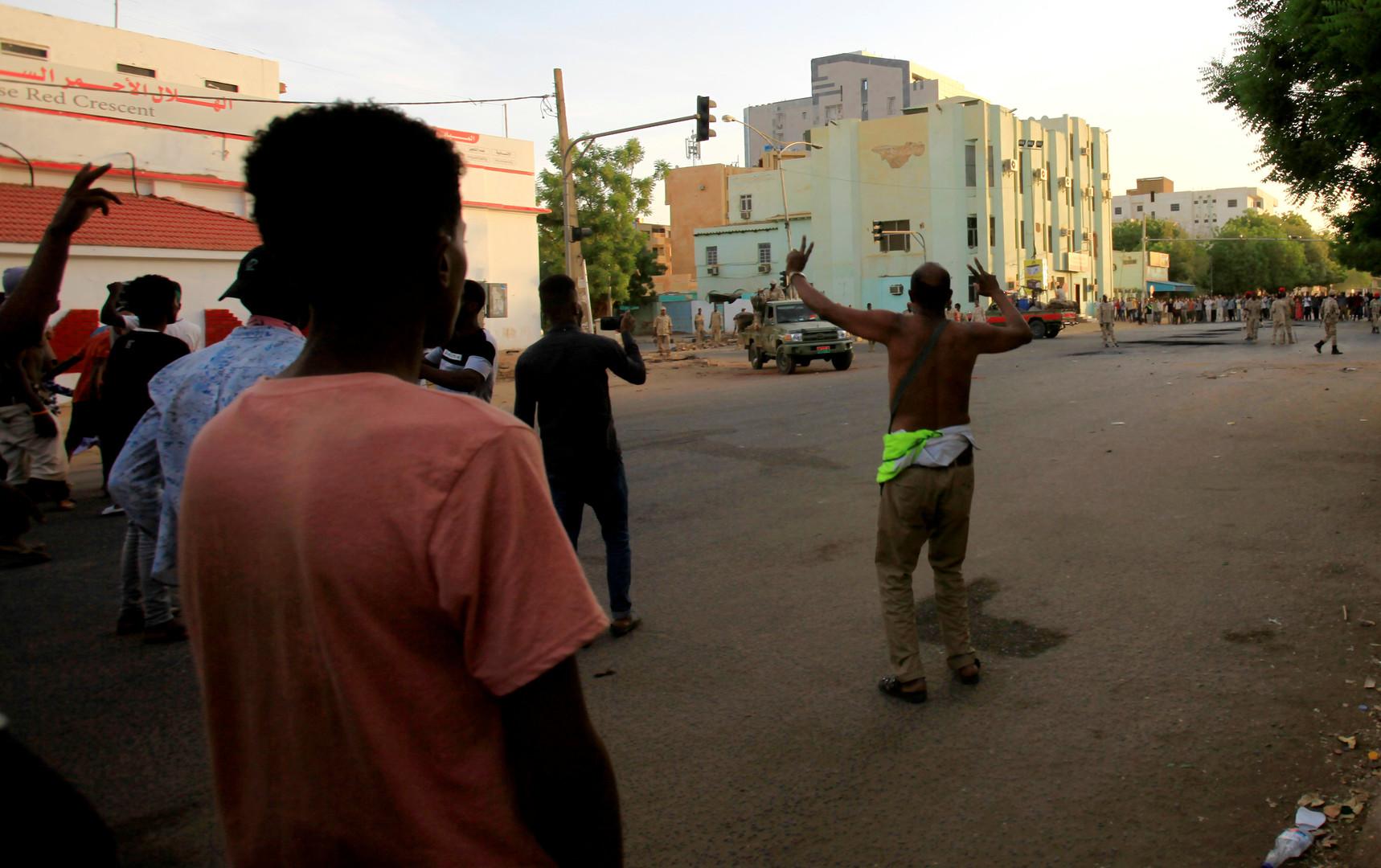 احتجاجات في العاصمة السودانية الخرطوم