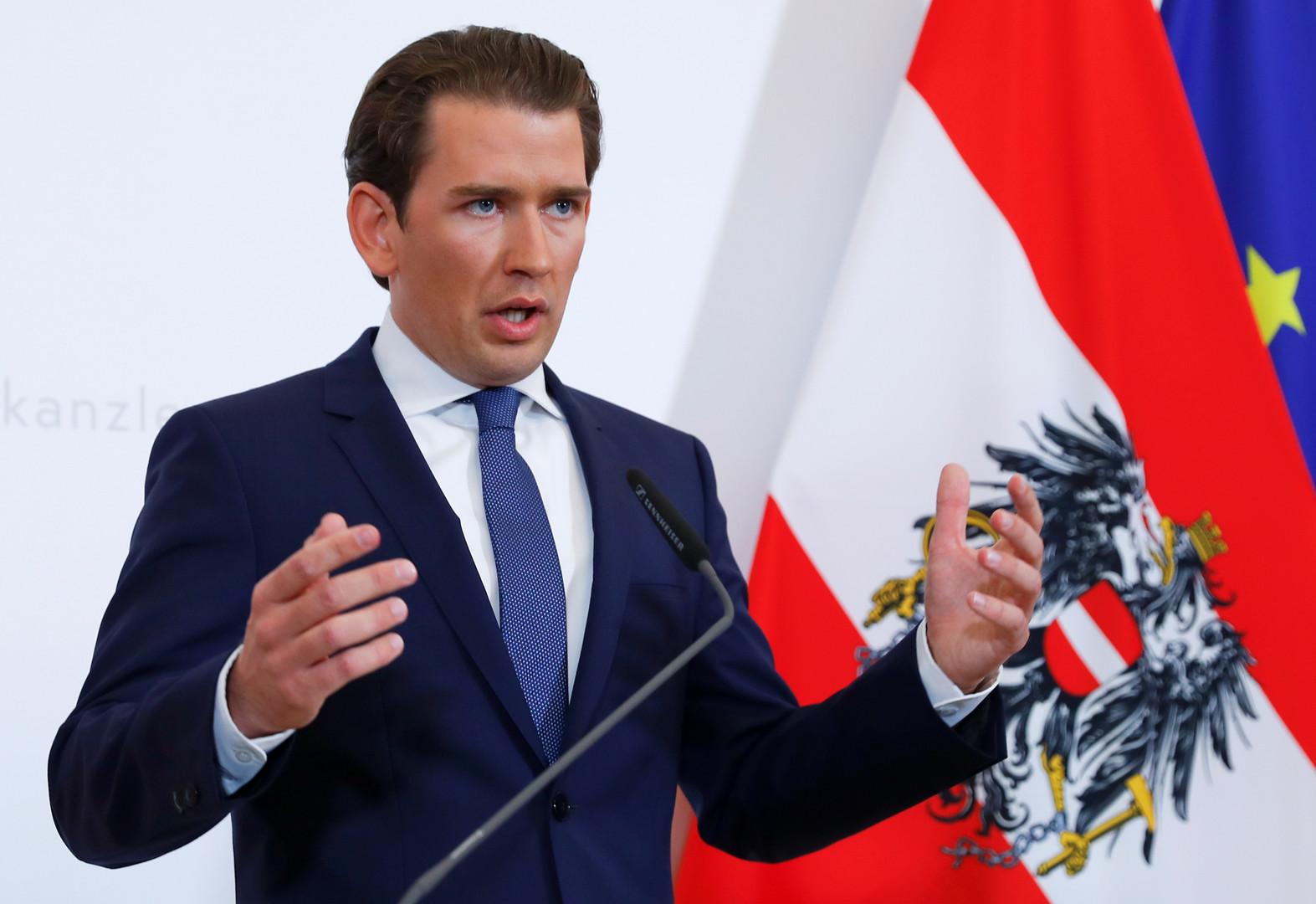مستشار النمسا يعلن إجراء انتخابات مبكرة إثر فضيحة حول نائبه من معسكر اليمين الشعبوي