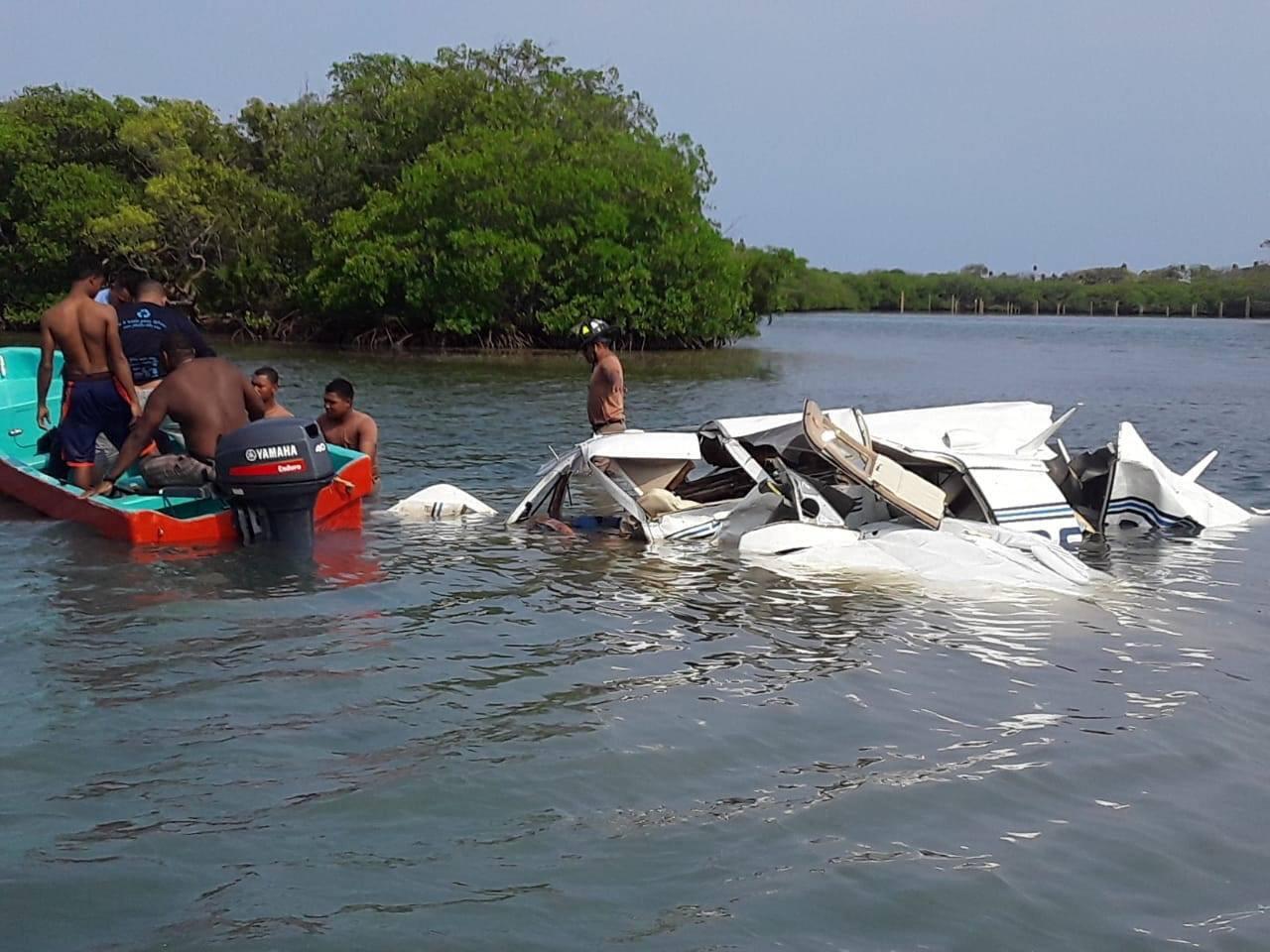 مكان تحطم الطائرة في جزيرة رواتان، هندوراس، 19 مايو 2019
