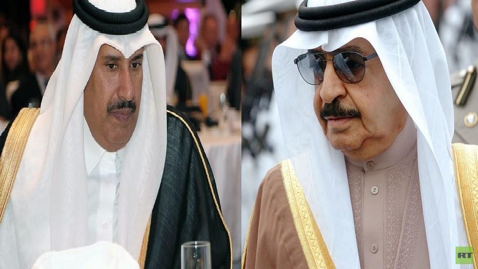 حمد بن جاسم مشيدا برئيس وزراء البحرين: لا يتلون حسب الأجواء